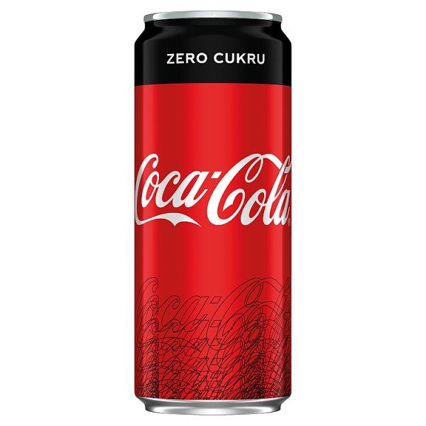 Coca-Cola zero puszka 0,33l