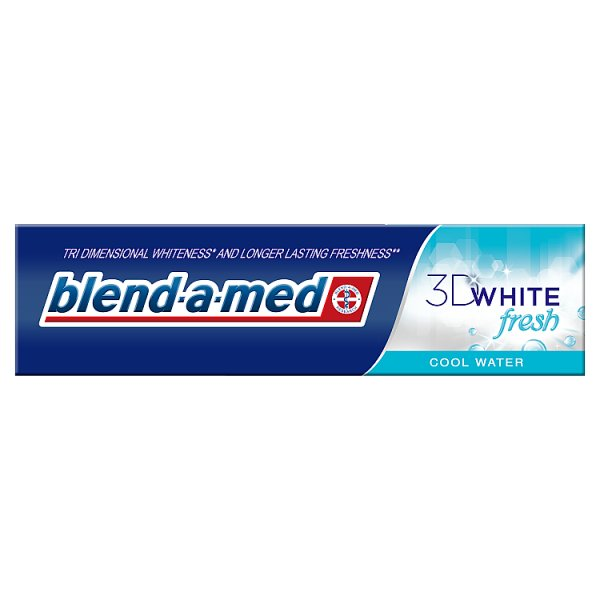Pasta Blend-a-Med 3D White Cool Water