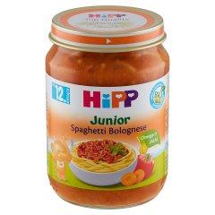 HiPP BIO Junior Spaghetti Bolognese po 12. miesiącu 250 g