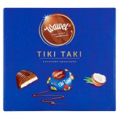 Wawel Tiki Taki kokosowo-orzechowe Czekolada z nadzieniem 430 g