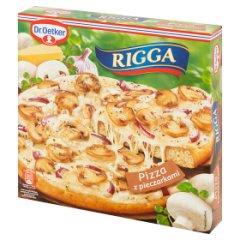 Pizza Rigga z pieczarkami