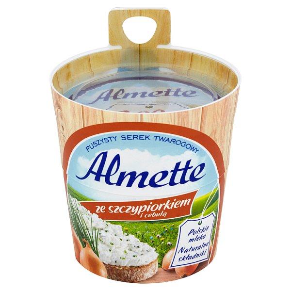 Serek Almette ze szczypiorkiem i cebulą