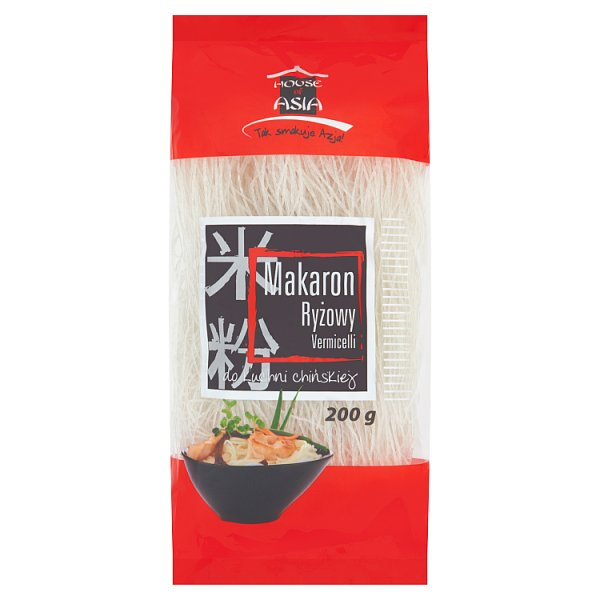 House of Asia Makaron ryżowy Vermicelli 200 g