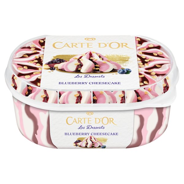 Carte D'Or Les Desserts Blueberry Cheesecake Lody 900 ml