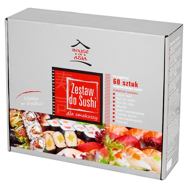 House of Asia Zestaw do sushi Premium dla 4-6 osób