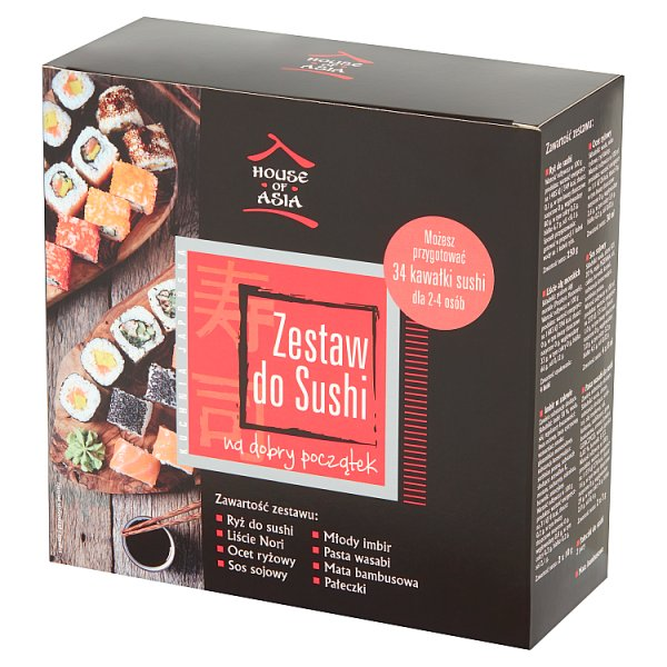 House of Asia Zestaw do sushi dla 2-4 osób