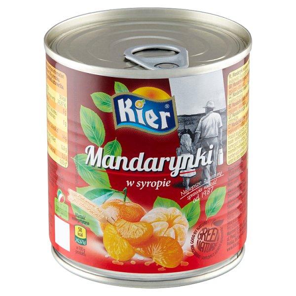 Kier Mandarynki w syropie 312 g