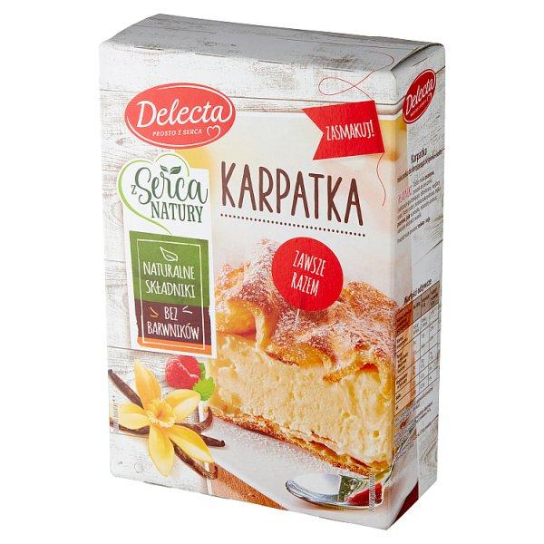Delecta Z serca natury Karpatka mieszanka do wypieku ciasta 390 g