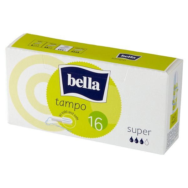 Bella Tampo Super Tampony higieniczne 16 sztuk