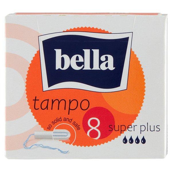 Bella Tampo Super Plus Tampony higieniczne 8 sztuk