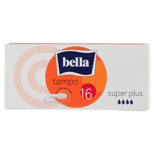 Bella Tampo Super Plus Tampony higieniczne 16 sztuk