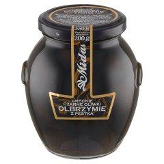 Midas Greckie czarne oliwki olbrzymie z pestką 350 g