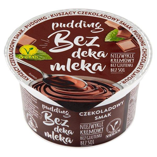 Bez deka mleka Pudding o smaku czekoladowym180 g