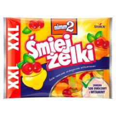 nimm2 Śmiejżelki Żelki owocowe wzbogacone witaminami 180 g