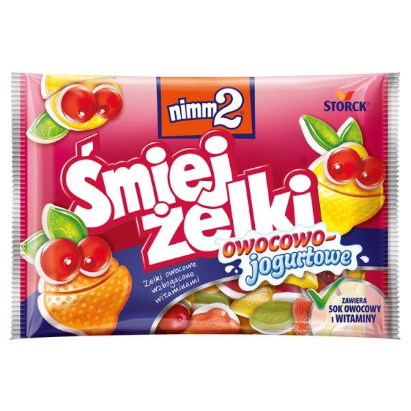 Żelki nimm 2 Śmiejżelki owocowo - jogurtowe