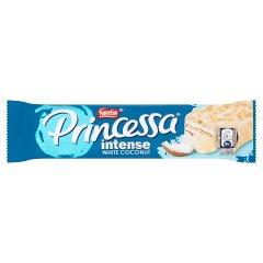 Princessa Intense White Coconut Wafel z kremem kokosowym oblany białą czekoladą 30,5 g