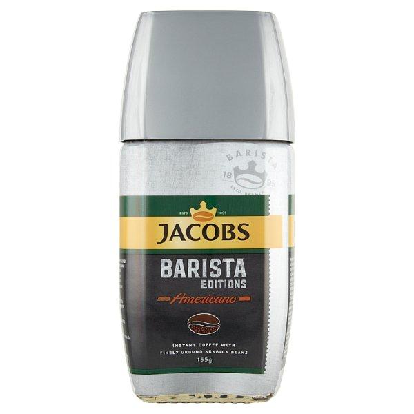 Jacobs Barista Edition Americano Kompozycja kawy rozpuszczalnej i zmielonych ziaren kawy 155 g