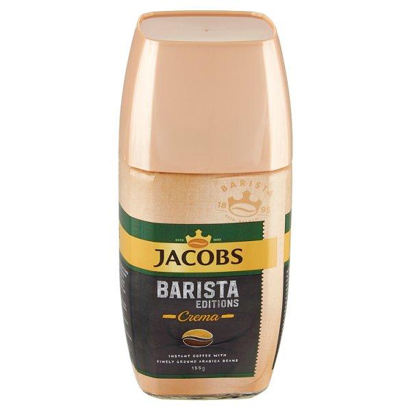 Jacobs Barista Edition Crema Kompozycja kawy rozpuszczalnej i zmielonych ziaren kawy 155 g
