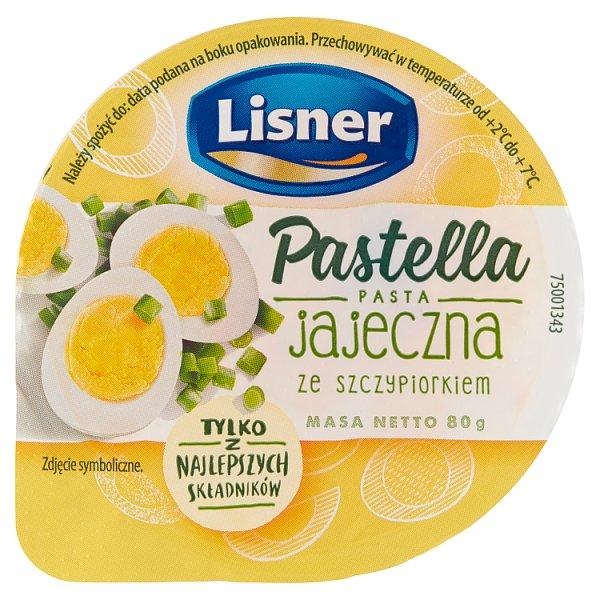 Lisner Pastella Pasta jajeczna ze szczypiorkiem 80 g