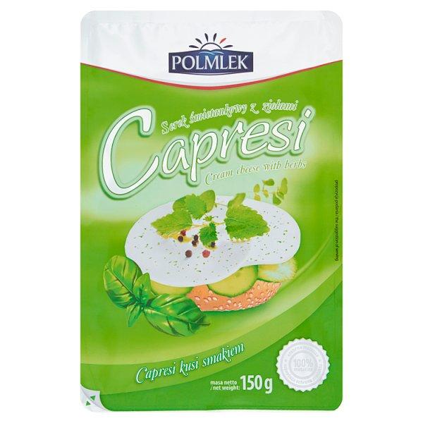 Polmlek Capresi Serek śmietankowy z ziołami 150 g