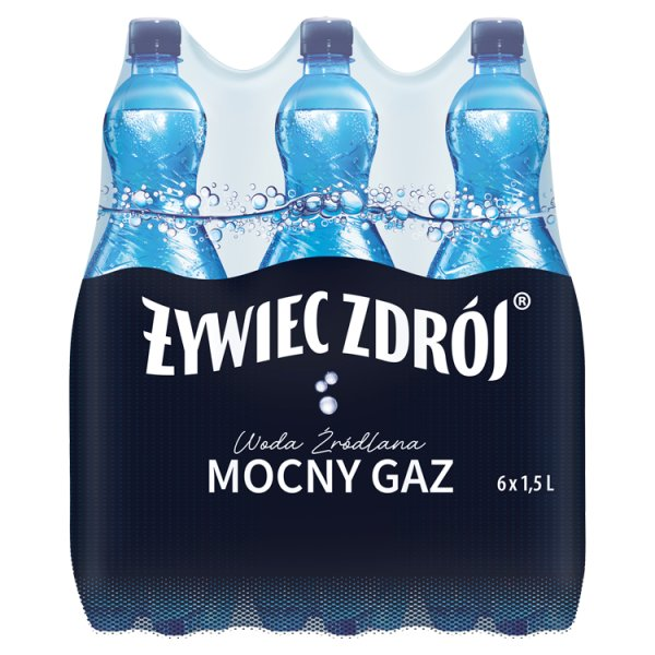 Woda Żywiec Zdrój GAZOWANY 6*1,5l  zgrzewka