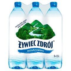Woda Żywiec Zdrój NIEGAZOWANA  6*1,5l zgrzewka