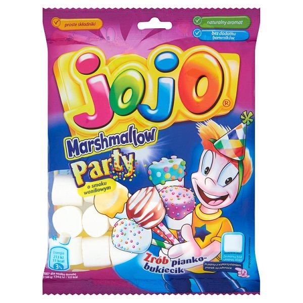 Jojo Marshmallow Party Pianki o smaku waniliowym 180 g