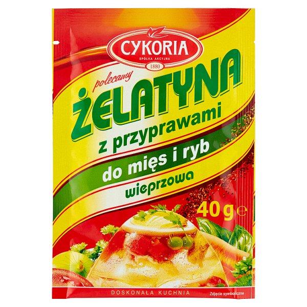 Cykoria Żelatyna z przyprawami do mięs i ryb wieprzowa 40 g