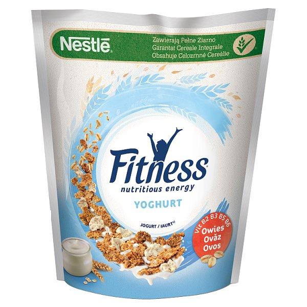 Nestlé Fitness Yoghurt Płatki śniadaniowe 225 g