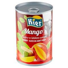Kier Mango plastry w lekkim syropie 425 g