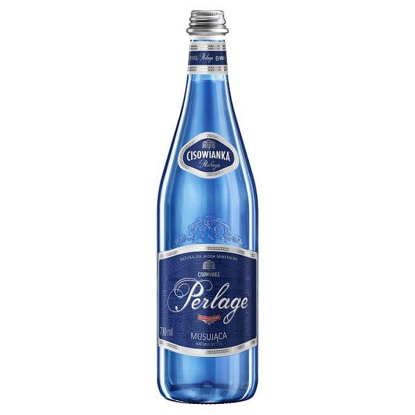 Cisowianka Perlage Naturalna woda mineralna musująca niskosodowa 700 ml