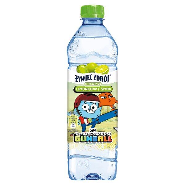 Woda Żywiec Zdrój o smaku limonki