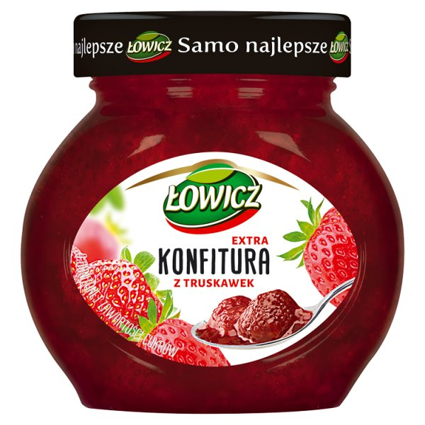 Konfitura Łowicz truskawkowa