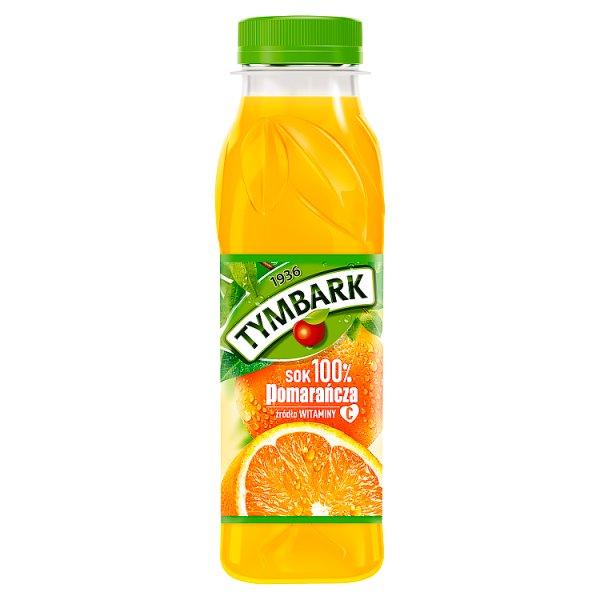 Tymbark Sok 100% pomarańcza 300 ml