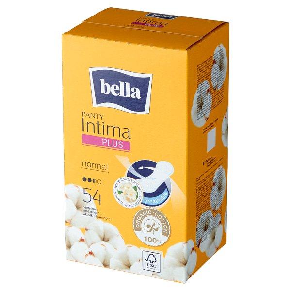 Bella Intima Plus Panty Normal Wkładki higieniczne 54 sztuki