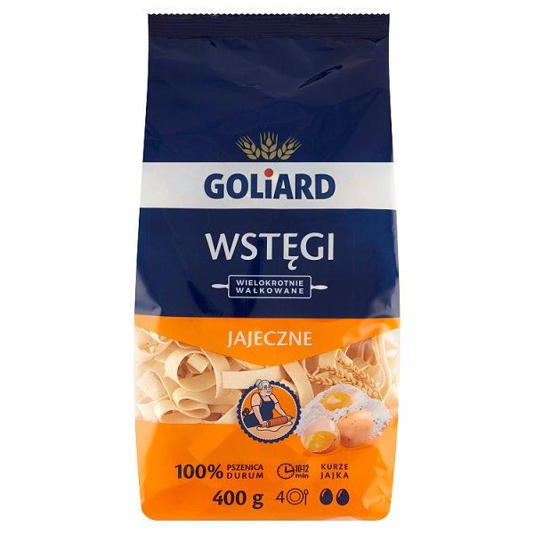 Goliard Makaron 2-jajeczny wstęgi 400 g