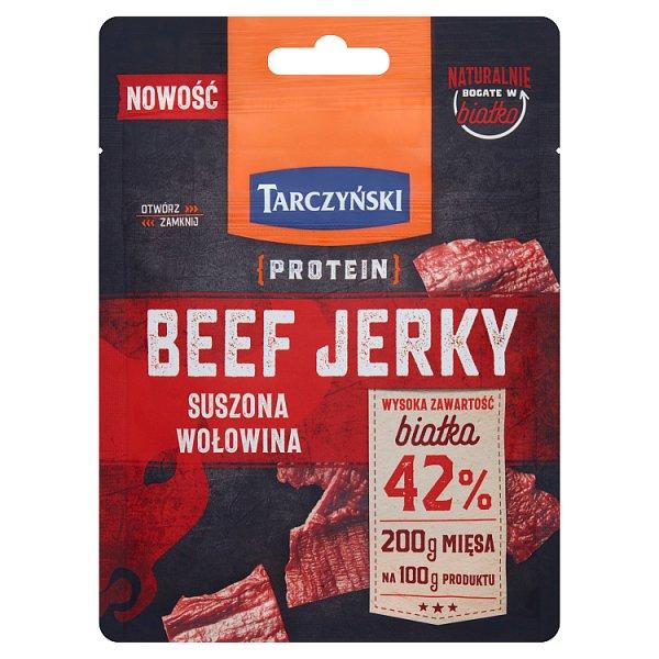 Tarczyński Protein Beef Jerky Suszona wołowina 25 g