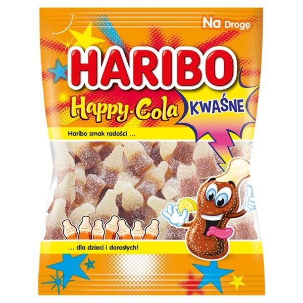 Haribo Happy-Cola Kwaśne żelki o smaku coli 100 g
