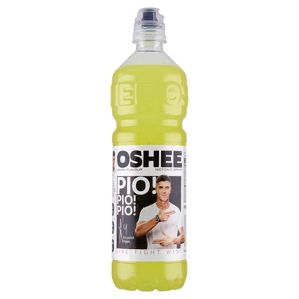 Oshee Napój izotoniczny niegazowany o smaku cytrynowym 0,75 l