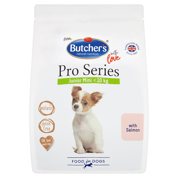 Butcher's Pro Series Karma dla młodych psów z łososiem 800 g