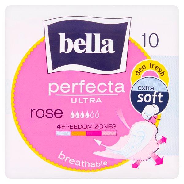 Bella Perfecta Ultra Rose Podpaski higieniczne 10 sztuk
