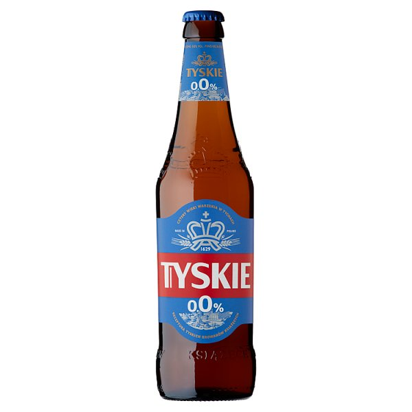 Tyskie Piwo bezalkoholowe 500 ml