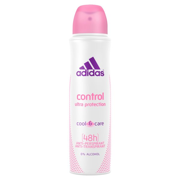 Adidas action3 deo spray women control