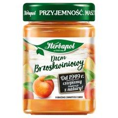 Herbapol Dżem brzoskwiniowy o obniżonej zawartości cukru 280 g