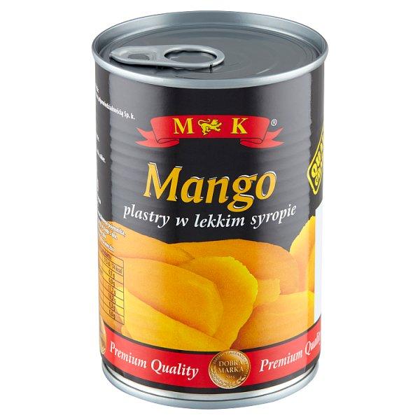 MK Mango plastry w lekkim syropie 425 g