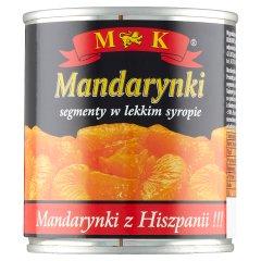 MK Mandarynki w lekkim syropie 312 g