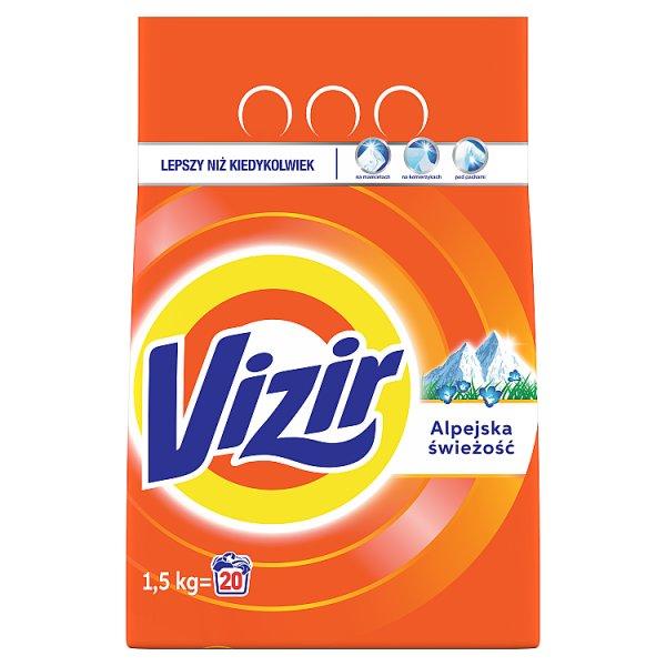 Vizir Alpine Fresh Proszek do prania 2 kg, 20 prań