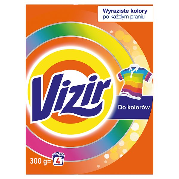 Vizir Color Proszek Do Prania 4 Prania 300 g