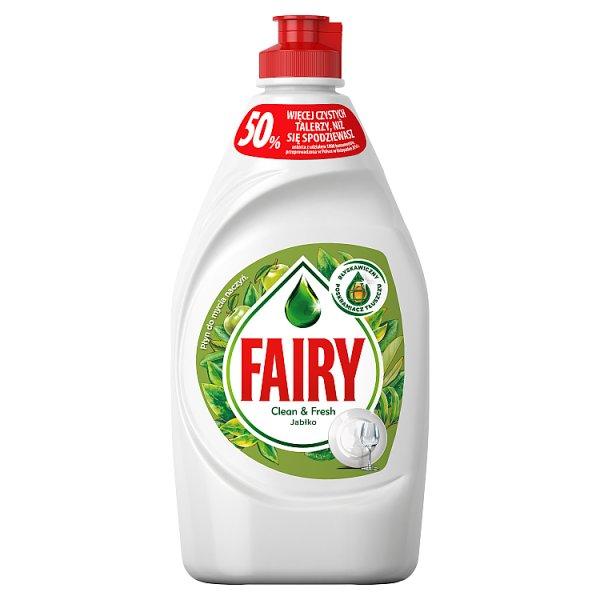 Fairy Clean & Fresh Jabłko Płyn do mycia naczyń 450ml