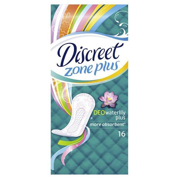 Discreet Plus Waterlily Wkładki higieniczne 16 sztuk